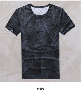 Men's T-shirt cotton casual tops