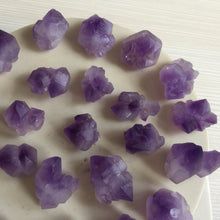 Twenty Pieces Natural Amethyst Geode Crystal Points