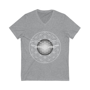 Shakti Supply Original Buddha's Gaze V-Neck Tee
