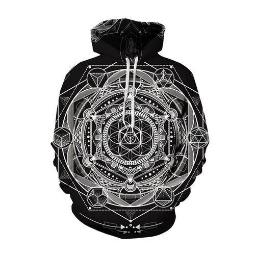 Platonic Solids pullover Hoodie