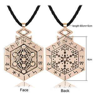 Yggdrasil Tree of Life Rune Talisman Pendant Necklace