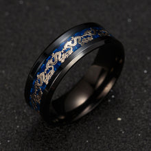 Men's Stainless Steel Dragon Ring