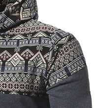 Men's Patterned Hoodie