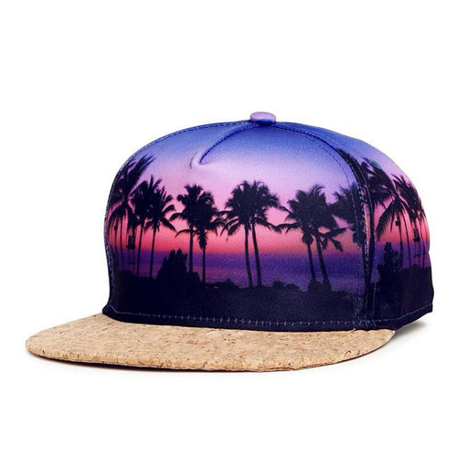 Tropical Print Snapback Series