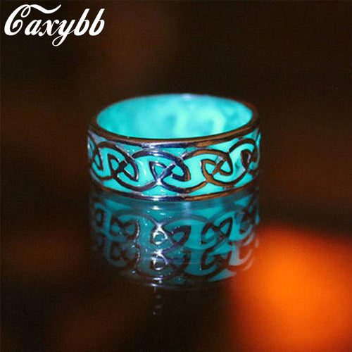 Glow In The Dark Geometric Ring