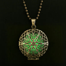 Glow in the Dark Locket Necklaces