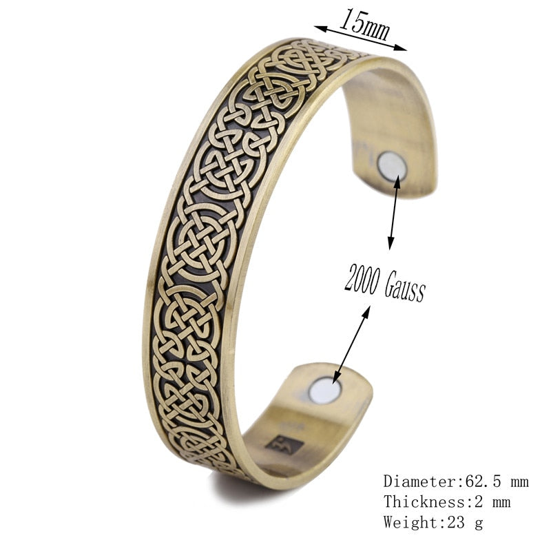 Engraved Celtic Knots Bracelet
