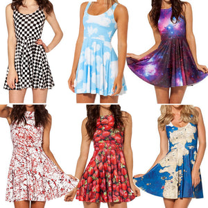 One-piece fashion dresses