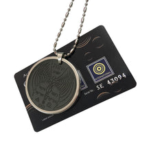 Shekinah Quantum Pendant & Stainless Steel Protector (Electromagnetic Wave Canceling)