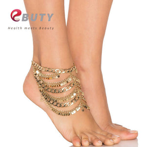 Vintage Women's Copper Fashion Anklet