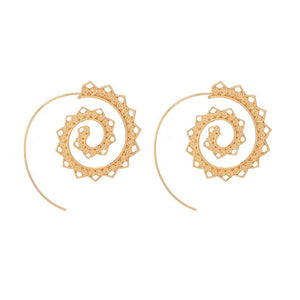 Sacred Spiral Earrings
