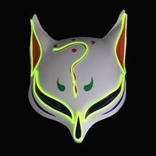 LED Fox Upper Face Mask