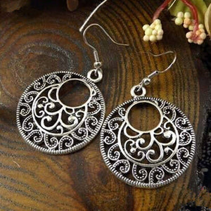 Tribal Vintage Indian Earrings