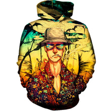 Fear and Loathing Printed Hoodie