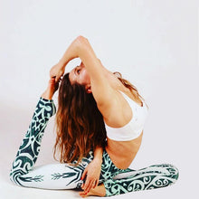 Mandala Printed Yoga Pants