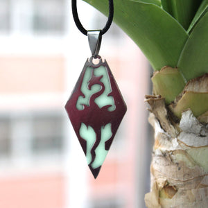 Glowing Dragonborn Necklace