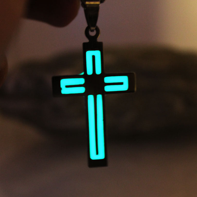 Glowing Cross Necklace
