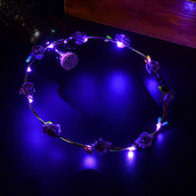 LED Flower Wreath