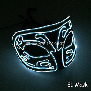LED Fox Mask