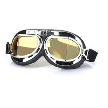 Steampunk Scooter Helmet Glasses