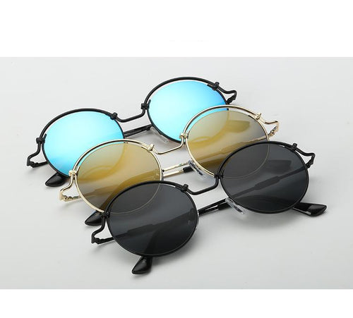 Round Frame Style Sunglasses