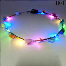 LED Floral Crown