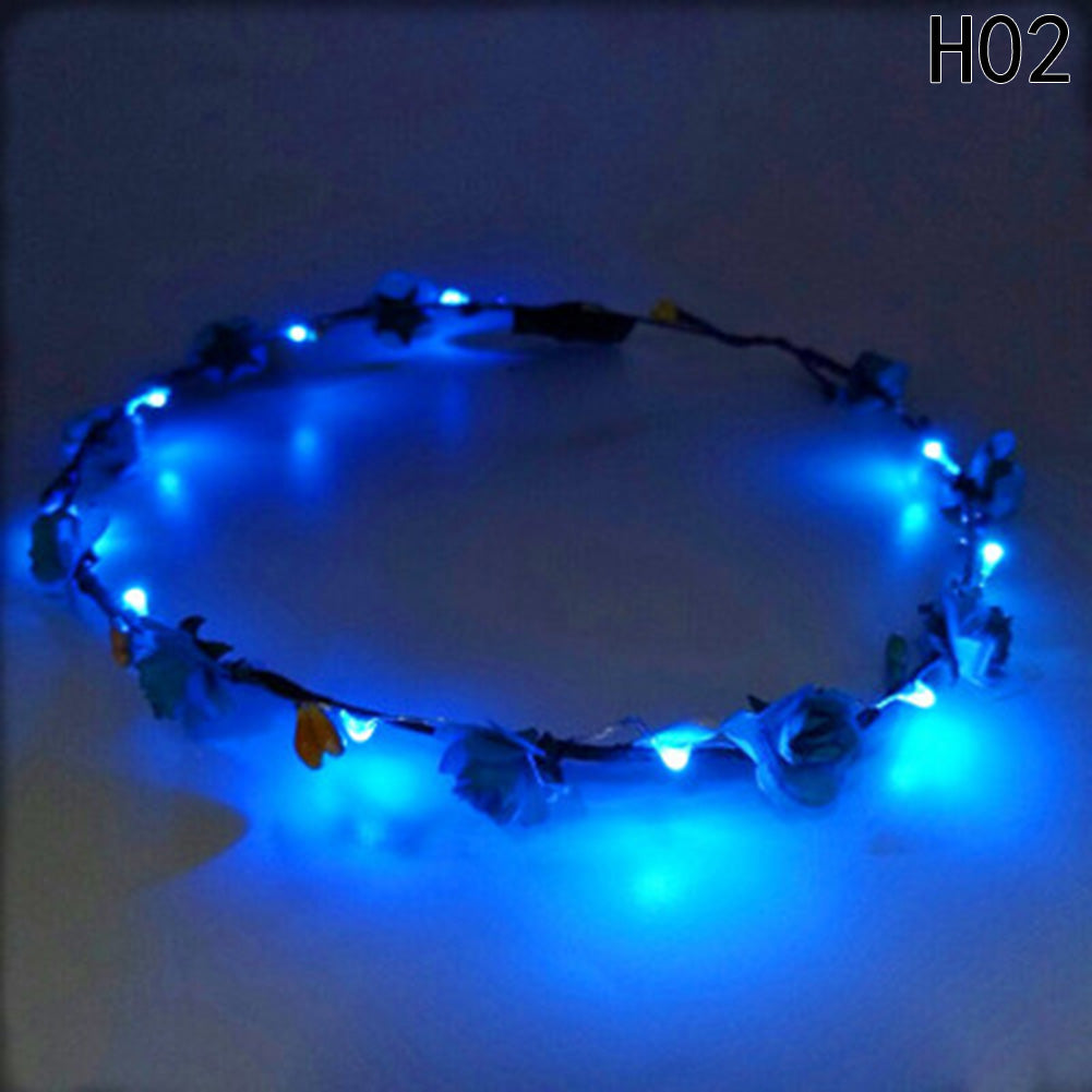 LED Floral Crown – Shakti Supply 7a2d6f0047d