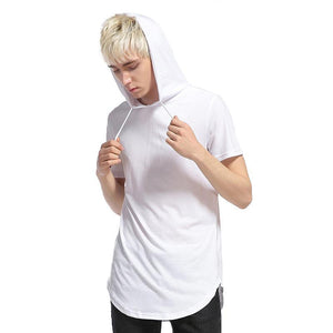 Long Hooded T Shirt