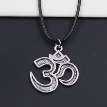 Om Pendant Cord Necklace