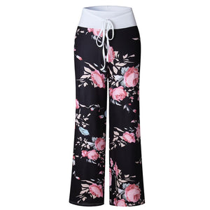 Women's Casual Low Waist Flare Pants