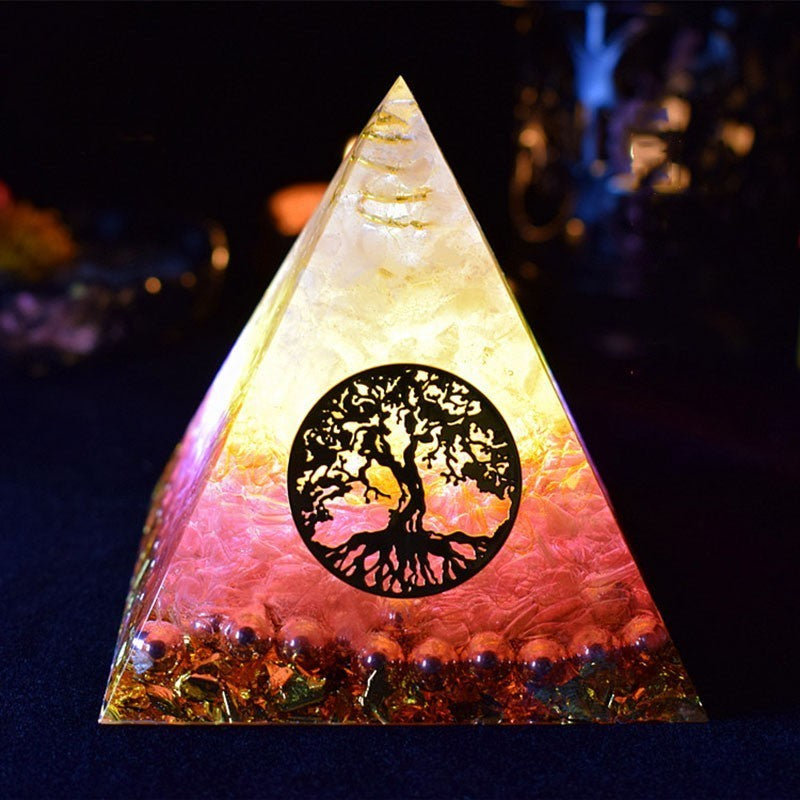 Orgonite Pyramid Energy Crystal