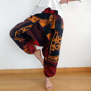 Men's Eagleprint Harem pants
