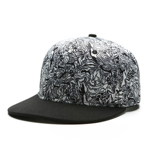 Melting Flowers Snapback