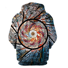 Stained Glass Spiral Hoodie