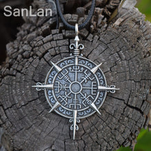 Vegvisir Compass Protection Pendant