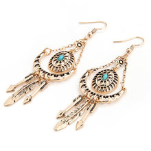 Vintage Hollow Earrings Gypsy Arrow Earrings