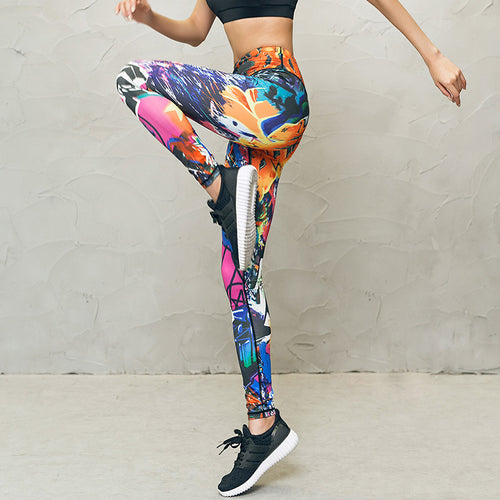 Printed Women's Yoga Pants