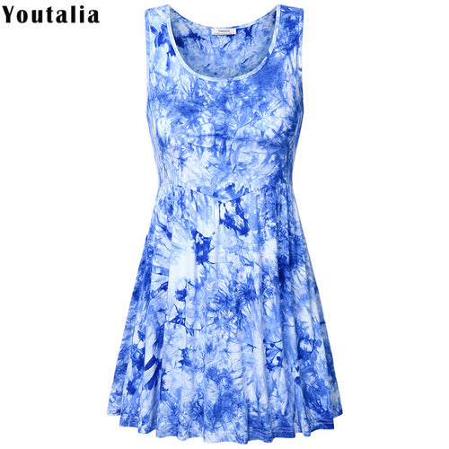 Floral Print Long Knitted Ladies Camisole