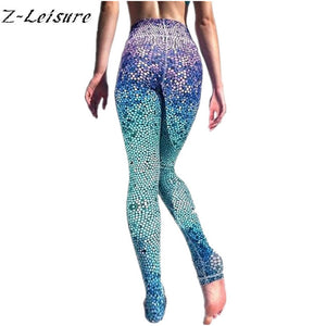 Trippy Dot Z-Leisure Yoga Pants