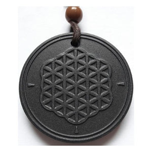 Flower of Life Quantum Pendant (Electromagnetic Wave Canceling)