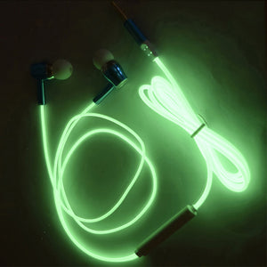 Glowing Headphones (green)