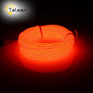 Waterproof 2M, 3M, and 5M Glowing Neon Light RGB LED Strip