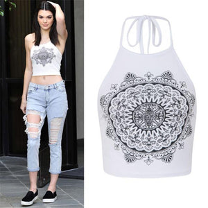 Women's Mandala Print Top
