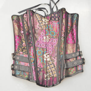 Purple Steampunk Corset