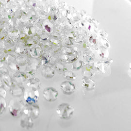 AB scatter crystals for wedding centerpieces and tables