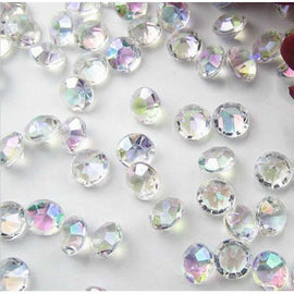 small crystal diamonds for table decorations