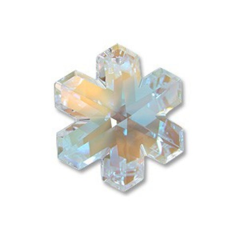 AB Snowflake Crystal Prism for Chandelier Replacement Crystals