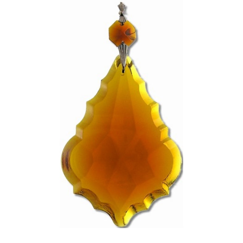 amber french large crystals for chandeliers