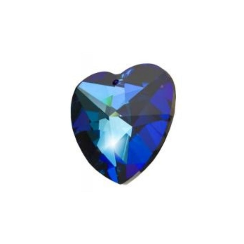 Blue Crystal Heart Prism for Weddings