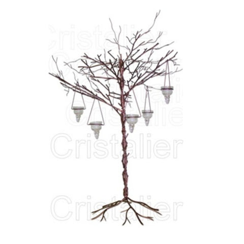 crystal wedding trees for centerpieces